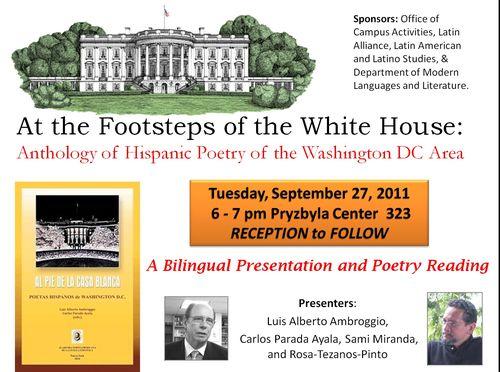Al pie de la Casa Blanca - Presentation at Catholic University