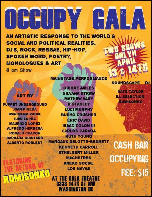 Occupy Gala